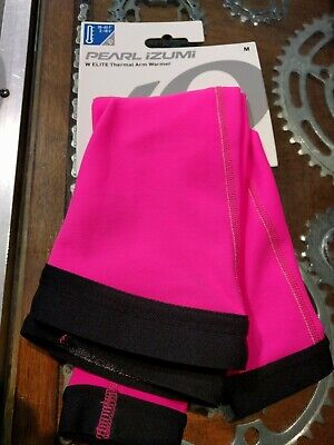 Pearl Izumi Select Women S M L Thermal-Lite Arm Warmers // Purple Stripes NEW