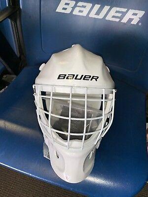 (Bauer Street YOUTH GOALIE MASK  Helmet ICE Roller Hockey)