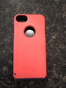 Pink and purple authentic otter box 5/5s/5c