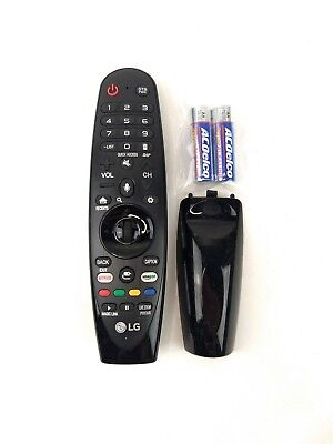 LG AN-MR650A Microphone Smart OLED UHD TV Remote Tested Cleaned w/Battery LG36