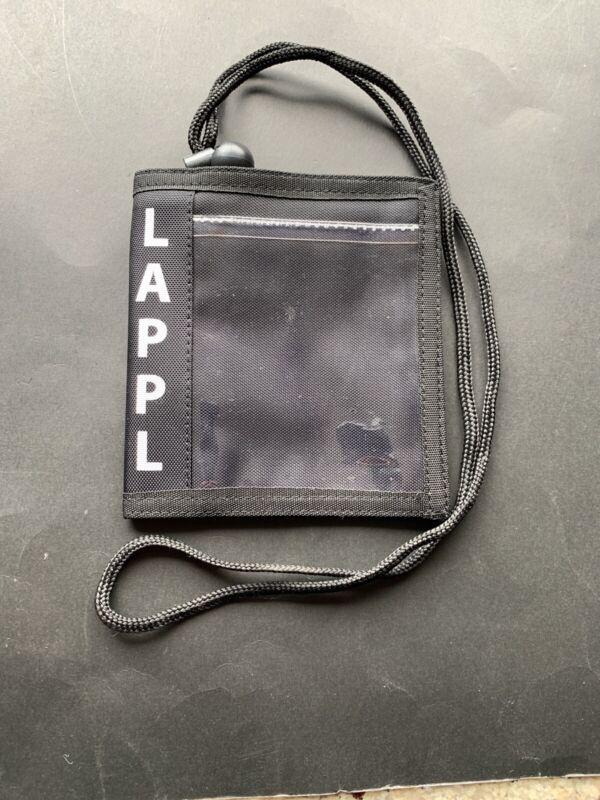 LAPPL Police Union ID Card Case Witn Lanyard