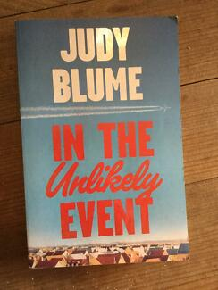 In the unlikely event by Judy Blume. Nic's books