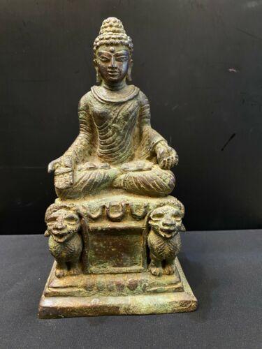 Gandhara kushan period bronze statue