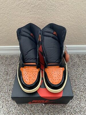 Air Jordan Retro 1 High OG Shattered Backboard 3.0 New Size 12.5 authentic