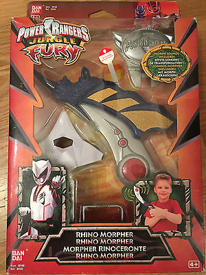 Power rangers jungle fury morpherebay power rangers jungle fury rhino morpher very rare toy new in sealed box voltagebd Image collections
