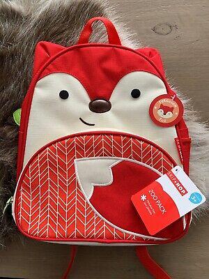 Skip Hop Zoo Pack Ferguson Fox Little Kid Backpack