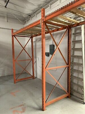 Pallet Rack Upright 10 8 X 46 42-horizontal Beam 102 15-wire Decking 8