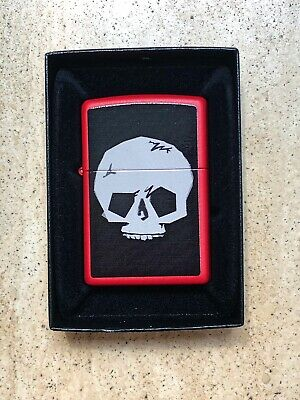Genuine Zippo Lighter SKULL Design Limited Edition Exclusive Brand New UNUSED