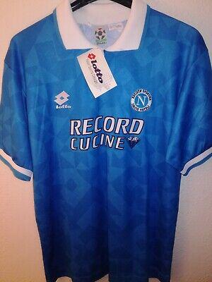 SSC NAPOLI 1994-1995 BNWT Record Cucine camiseta shirt trikot maglia lotto