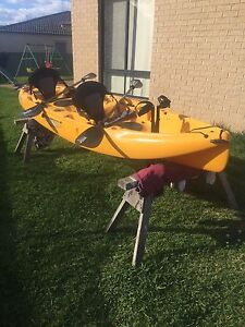 Hobie mirage outfitter two person kayak Glenmore Park Penrith Area Preview