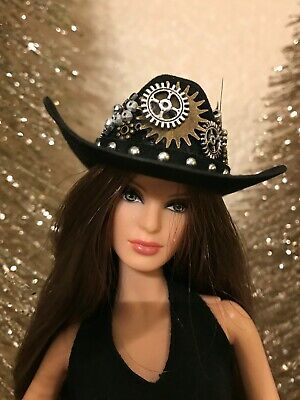 Handmade Jewelry & Accessories for Barbie Steampunk Cowboy Hat