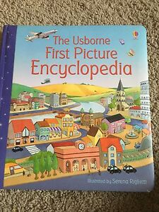 Usborne first picture encyclopedia