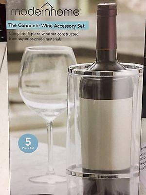 Corkscrew Bottle Opener Wine & Bar Tool Complete Accessories Set Specialty Steel