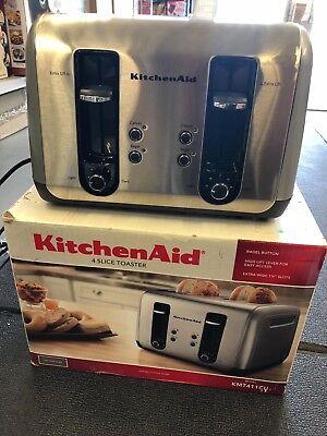 KitchenAid KMT411 CU 4-Slice Toaster
