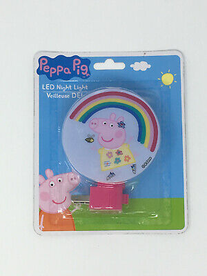 Peppa Pig LED Night Light - New