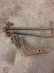Very heavy receiver with sway bars