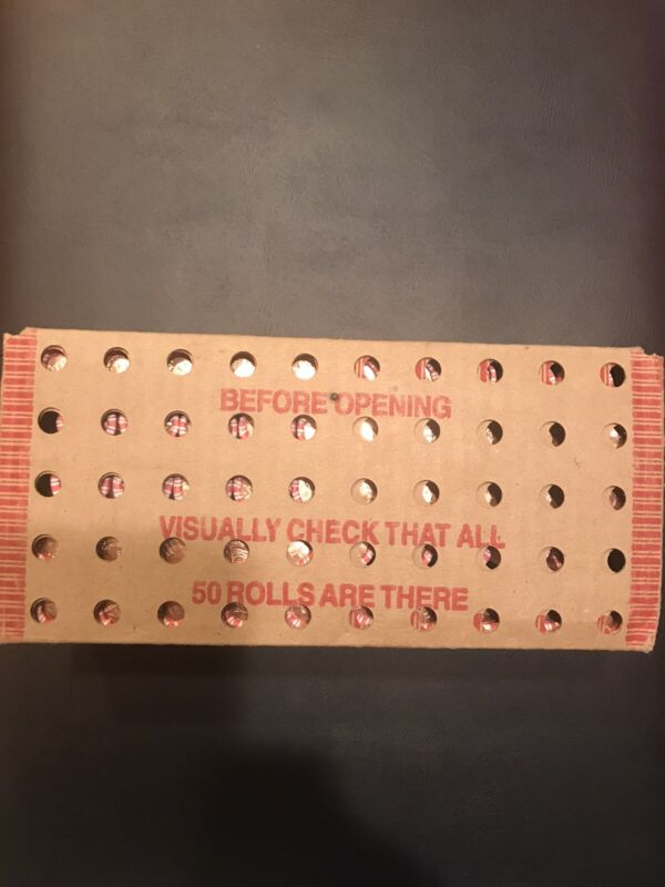2009-P Lincoln Penny LP-4 Presidency Sealed Box of 50 Rolls.