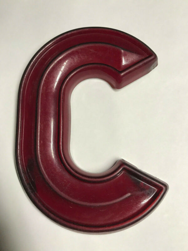 "Vintage 12"" tall Marquee Letter ""C"" from The Fabulous FOX THEATER Atlanta, GA"