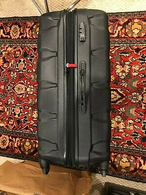"Samonite Omni Spinner 28"" Black Luggage Suitcase Rolling Hardside PC"