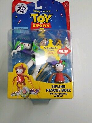 Toy Story 2 - zipline rescue buzz string-gliding action](Zipline Games)