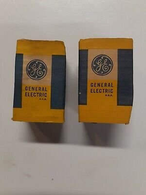 Two General Electric Ge 1240 Ge1240 Lamp Light Bulb Kodak Microfilm Projector