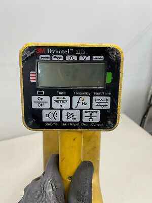 3m Dynatel 2273 Pipe Fault Locator Receiver Only For Parts
