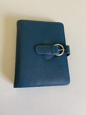 Franklin Covey Ava Leather Binder Classic Teal