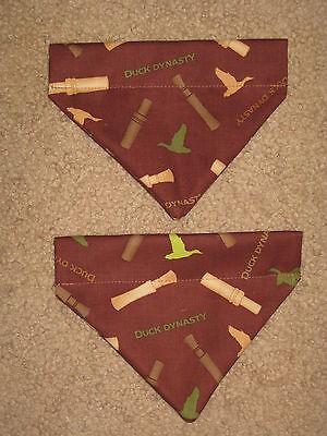 Duck Dynasty Whistle (Ducks Duck Whistle Duck Dynasty Dog Bandana - 5 sizes XS -)