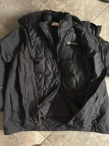 Men's double lined Columbia winter Jacket
