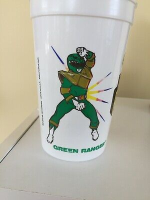 Vintage Mighty Morphin Green Power Rangers 5