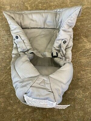 Ergobaby Infant Insert for Ergo Baby Carrier - Newborn - 4M Grey