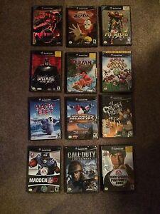 12 GameCube Game Lot