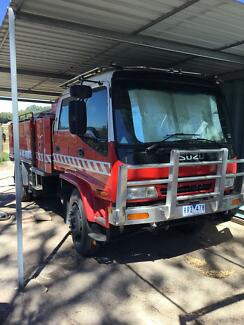 Fire truck Pyalong Mitchell Area Preview