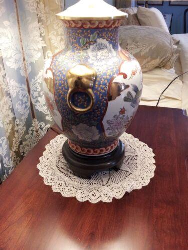 Wonderful Oriental Porcelain Lamp