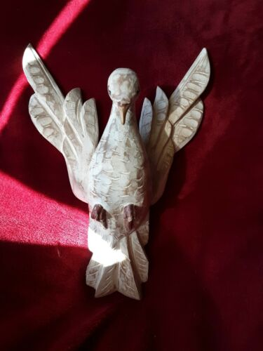 Handcarved hardwood Dove