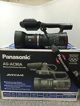 PANASONIC AG-AC90AEN PROFESSIONAL VIDEO CAMERA with MIC. AS NEW!! Herberton Tablelands Preview