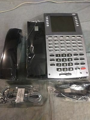 Nec Aspire 34 Button Black Super Display Phone 0890049 Refurb Warranty