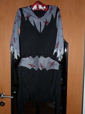 Karnevalskostüm für Mädchen, Hexe, Halloween, mit Gürtel, selten getragen, gut (Kostüm Für Halloween Für Mädchen)