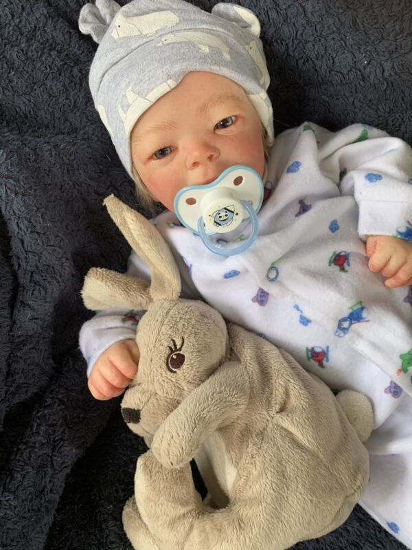 Sweet Reborn Baby BOY Doll JACOB was Darren by Bountiful Baby COMPLETED baby