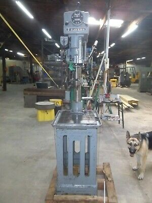 Clausing 2286 Drill Press On Cast Iron Table 20 Variable Speed