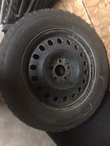Winter Wheels off 2013 Ford Taurus