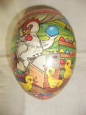 Original DDR Kult Osterei Pappei Ostern Candy Container Candycontainer 11 cm