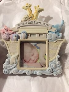 Noah's ark picture frame (brand new)