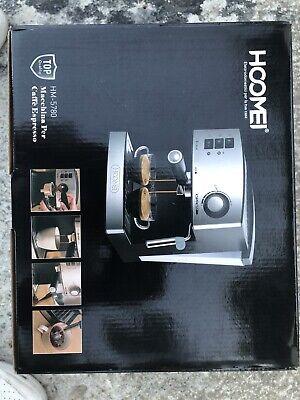 HOOMEI Macchina per il Caffè, 800W, colore Nero Classe A HM-5780