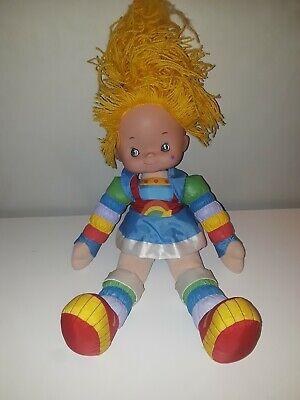 VINTAGE 1983 Hallmark RAINBOW BRITE 18 Inch Plush Yarn Hair Doll Mattel