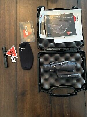 Trijicon ACOG 4x32 Scope with Red Dual Illumination ACSS Reticle TA31-D-100468