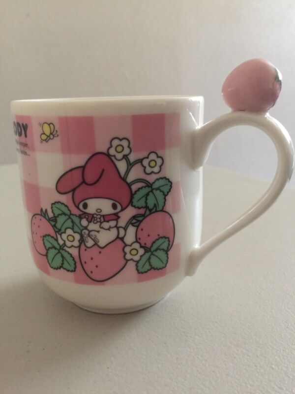 My Melody Sanrio Strawberry Mug, Coffee, Cup, Tea