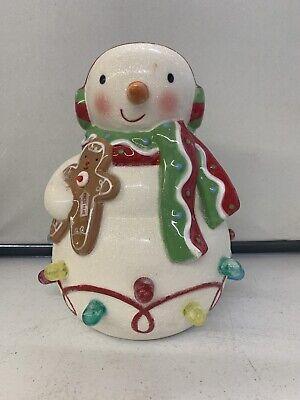 Ceramic Light Up Snowman
