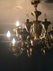Brass Chandlier