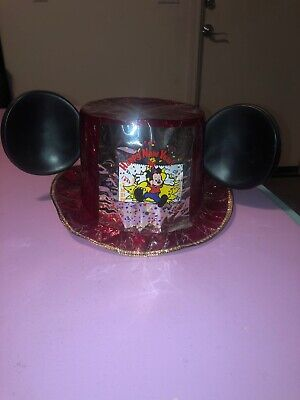 Rare Vintage Walt Disney Company Jacobson Mickey Mouse New Year Hat